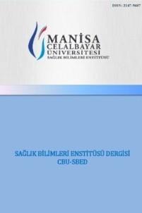 CBU-SBED: Celal Bayar University-Health Sciences Institute Journal
