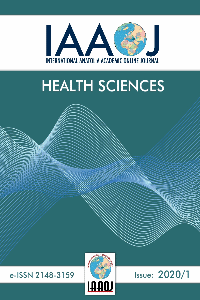 International Anatolia Academic Online Journal Health Sciences