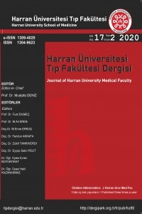 Journal of Harran University Medical Faculty