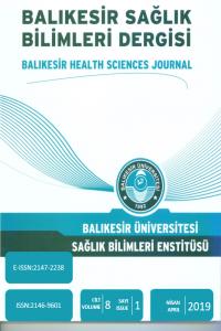 Balıkesir Sağlık Bilimleri Dergisi