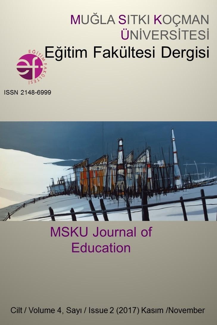 Muğla Sıtkı Koçman Üniversitesi Eğitim Fakültesi Dergisi