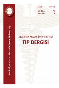 The Medical Journal of Mustafa Kemal University
