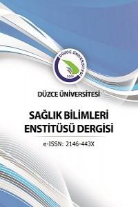 Journal of Duzce University Health Sciences Institute