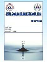 ERÜ Sağlık Bilimleri Fakültesi Dergisi
